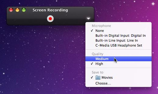 How to record screen on mac os